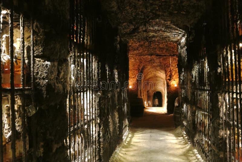 Wino jama w Sistani obrazy royalty free