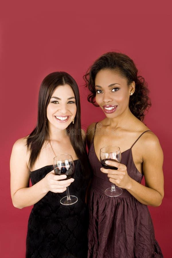 wino kobiety zdjęcia royalty free