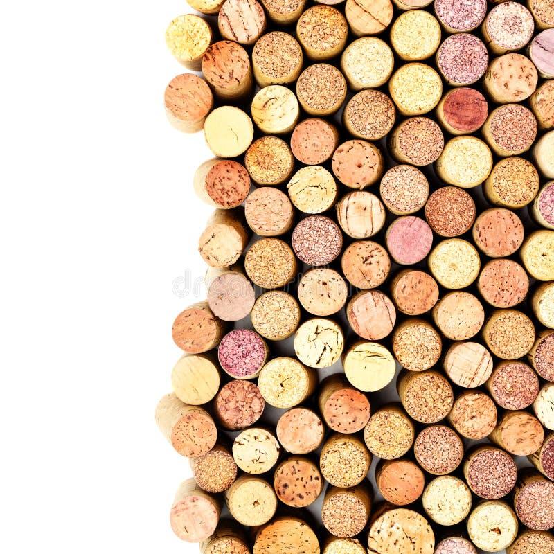 Wino korki zdjęcie royalty free