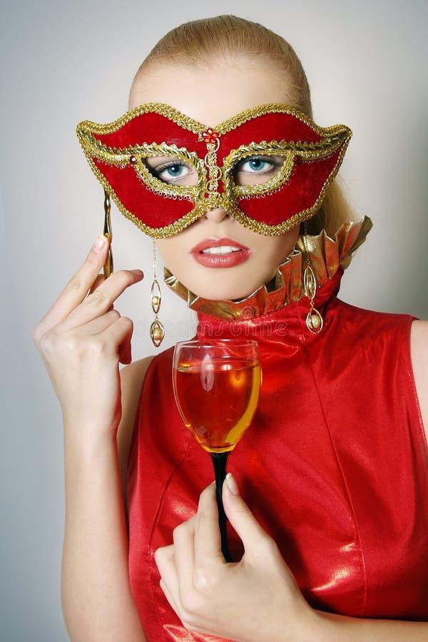 wino piękne szklane kobiety obrazy royalty free