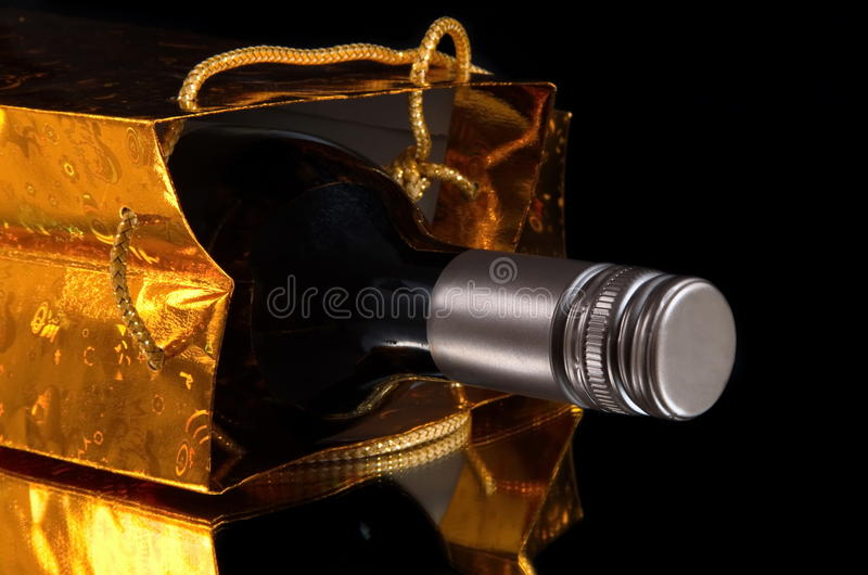 Wino prezent obrazy stock