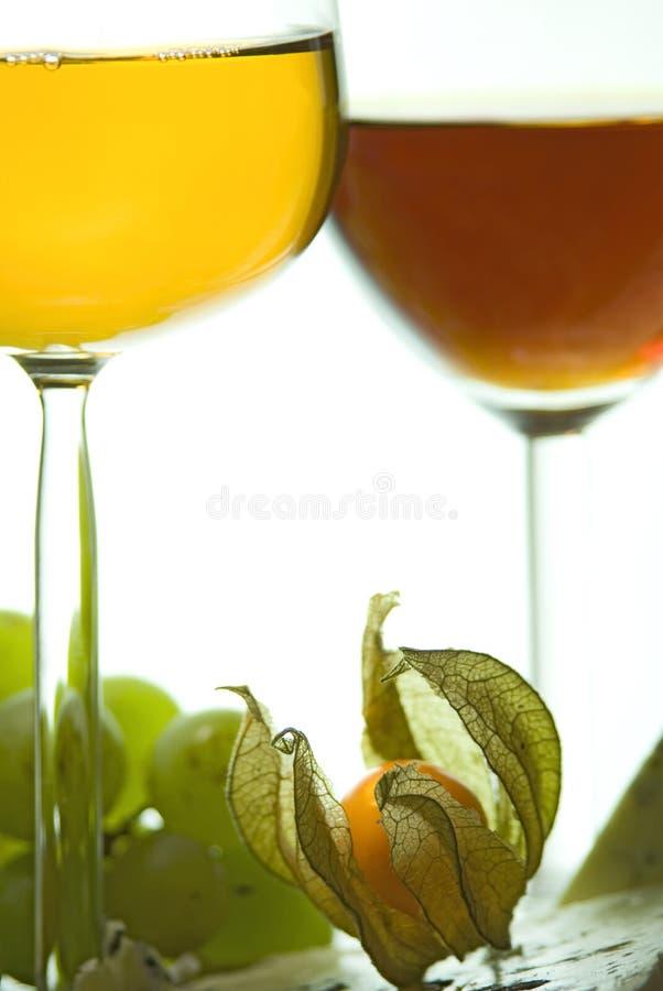 wino słodkie sera ii fotografia stock