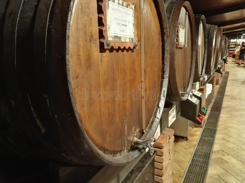 Wino sen zdjęcie stock