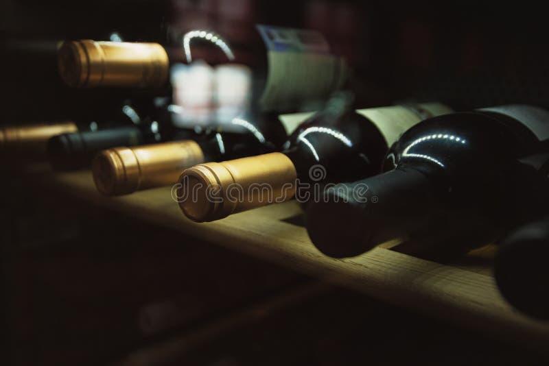 Wino utrzymuje fotografię fotografia stock