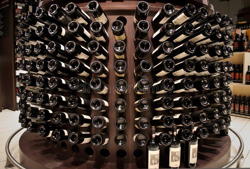 Wino właściciel Chianti Classico obraz royalty free