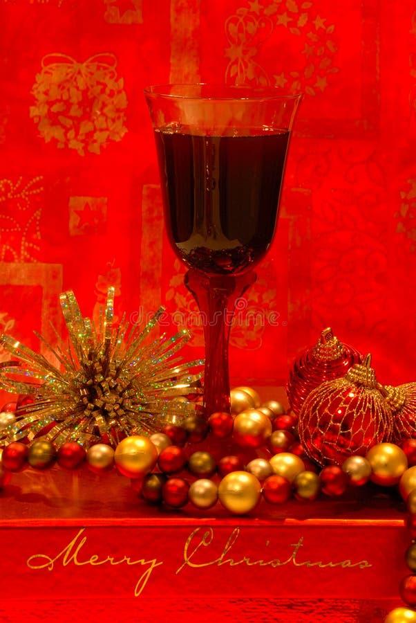 wino wakacyjne fotografia stock