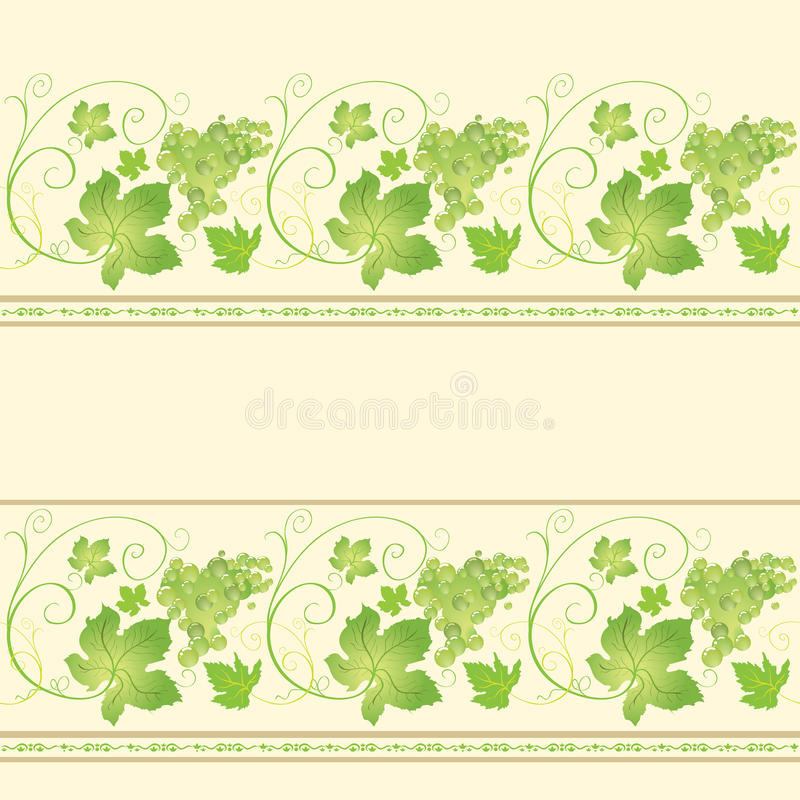 winogrona bezszwowy deseniowy ilustracji
