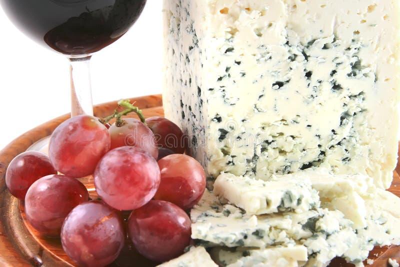 winogrona serowy roquefort obrazy royalty free