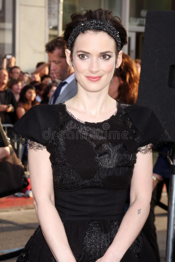 Download Winona Ryder editorial stock photo. Image of star, april - 20854638