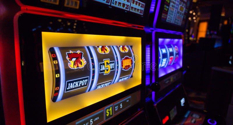 WINS by Las Vegas casino... stock photos