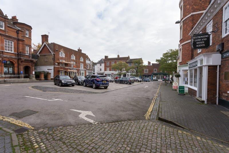 Winslow, Buckinghamshire, Великобритания, 25-ое октября 2016: Марк стоковое изображение rf