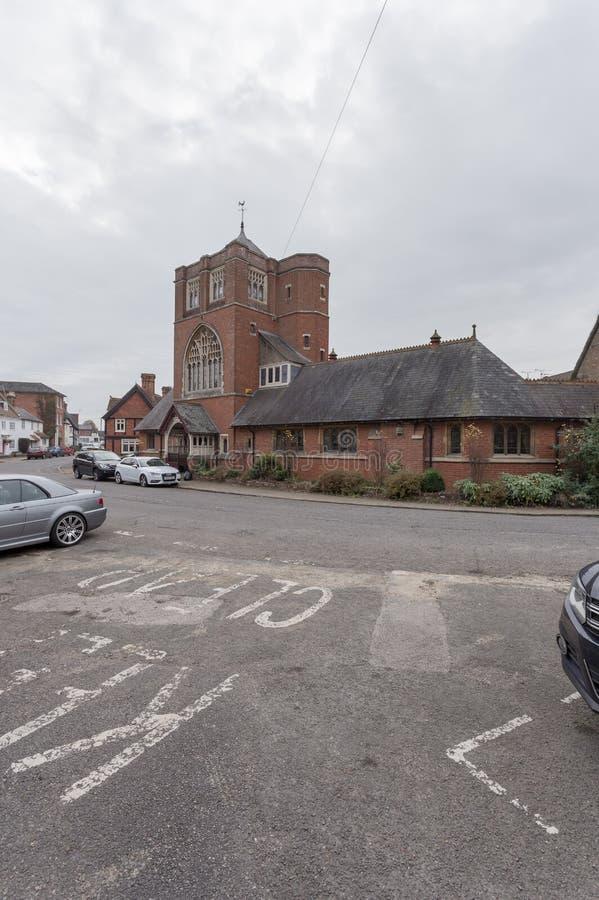 Winslow, Buckinghamshire, Великобритания, 25-ое октября 2016: Cong стоковые изображения