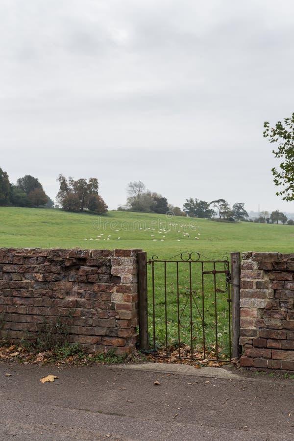 Winslow, Buckinghamshire, het Verenigd Koninkrijk, 25 Oktober, 2016: Winsten stock afbeelding