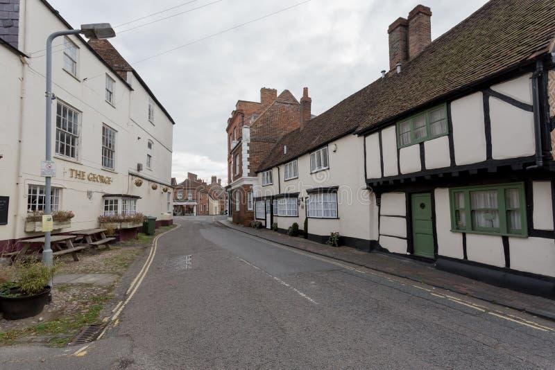 Winslow, Buckinghamshire, Regno Unito, il 25 ottobre 2016: Cott fotografie stock libere da diritti