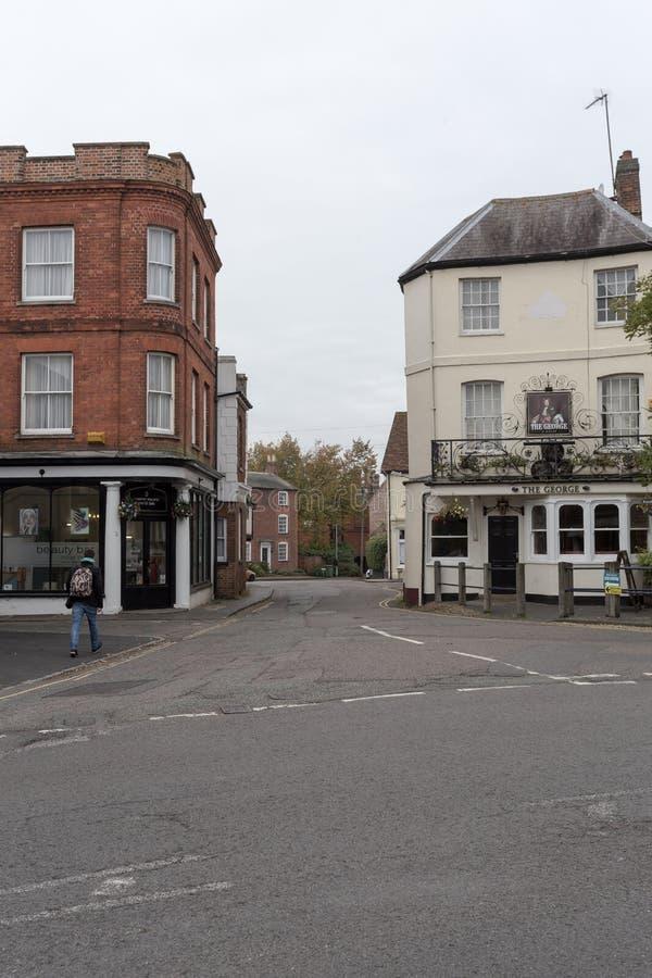 Winslow, Buckinghamshire, Reino Unido, o 25 de outubro de 2016: Beau fotos de stock royalty free