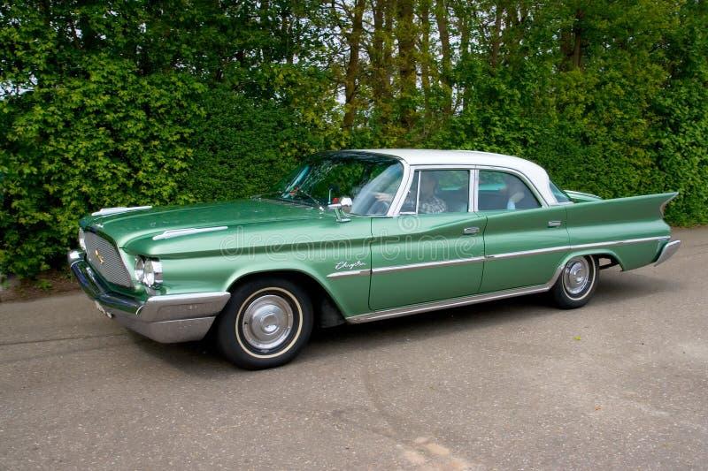 winsor 1960 классики chrysler автомобиля стоковое фото rf