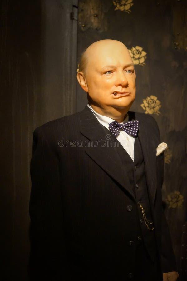 Winston Churchill obrazy royalty free