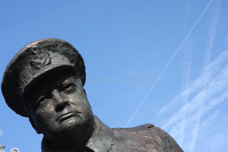 Winston Churchill stock image