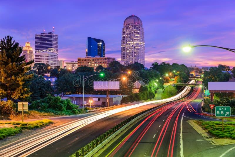 Winston-Salem North Carolina arkivbilder