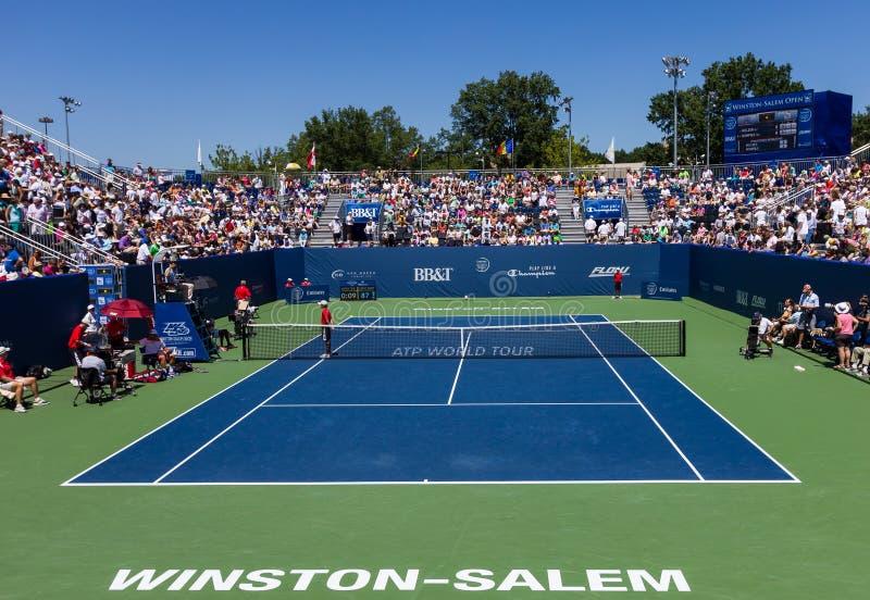Winston-Salem Open 2013 stock photo