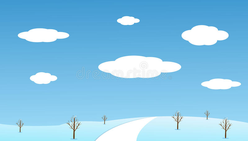 Download Winter stock vector. Illustration of design, graphic - 21849725