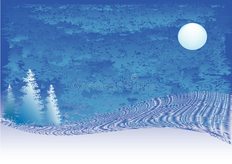 Download Winter stock vector. Image of blue, cold, horizontal - 21960802