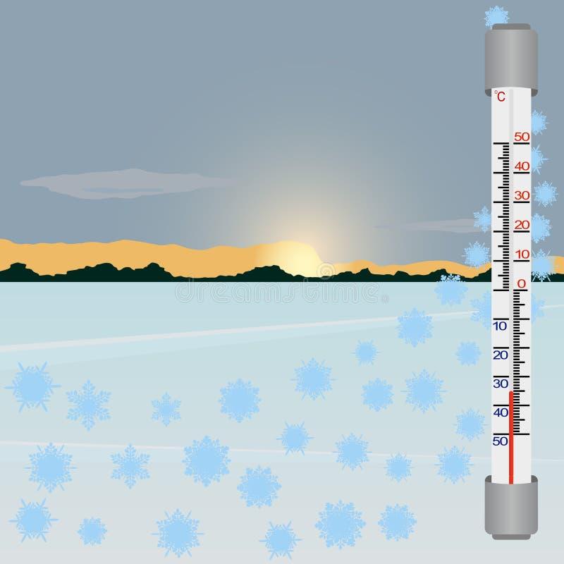 Download Winter stock vector. Illustration of temperature, graph - 26972586