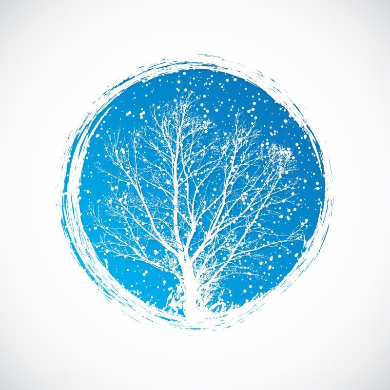 Download Winter stock vector. Image of backdrop, merry, design - 28616487