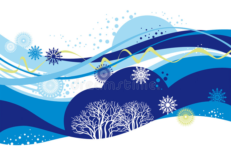 Winter vektor abbildung