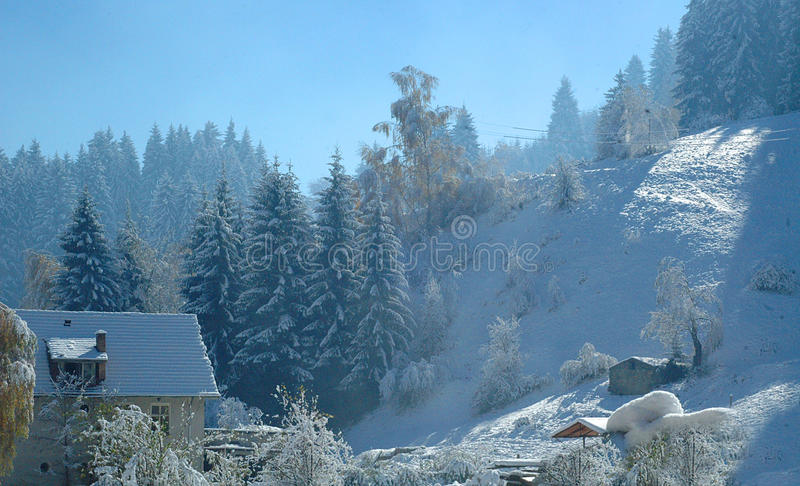 Winter 1 lizenzfreies stockfoto