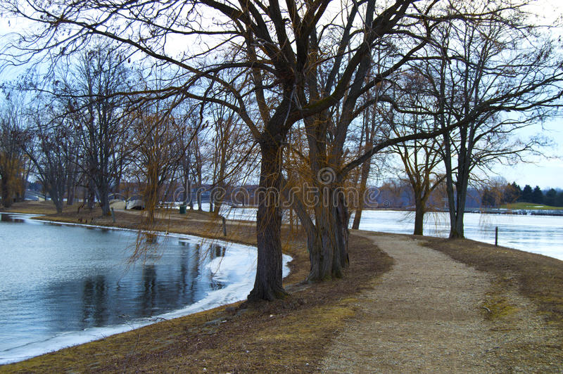 Download Winter湖 库存图片. 图片 包括有 海景, 森林, 贿赂, 池塘, 面板, beauvoir, 场面 - 72359579