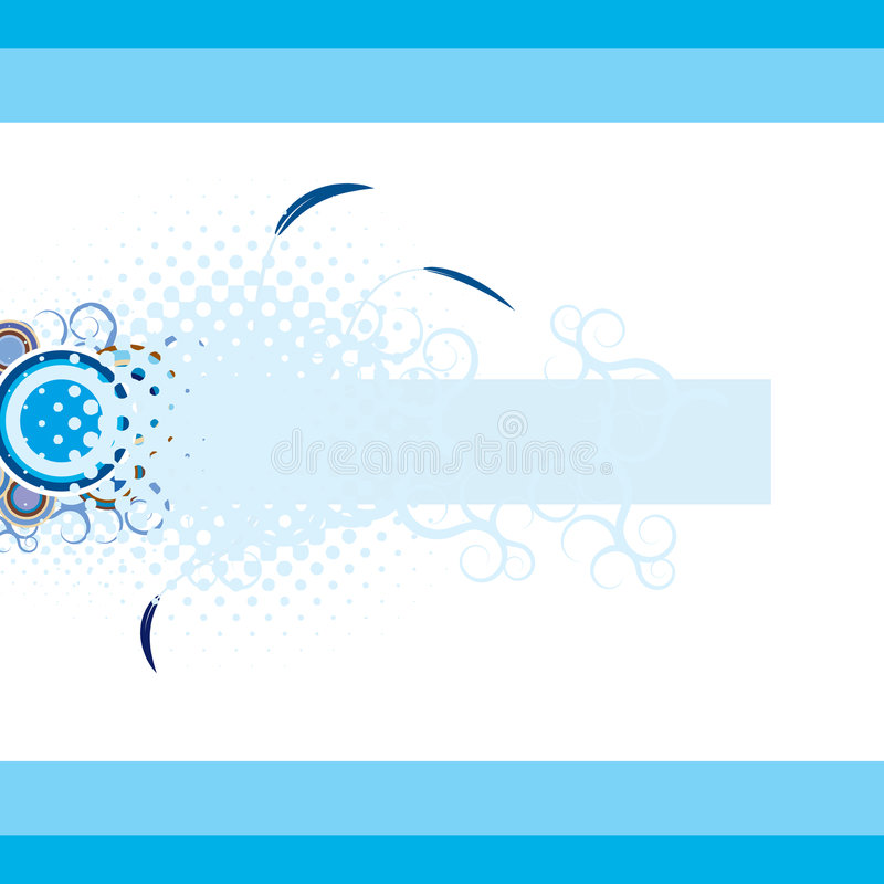 Winter abstract background royalty free illustration