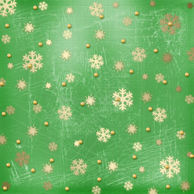 Download Winter Abstract Background With Snowflakes Stock Illustration - Image: 11002103