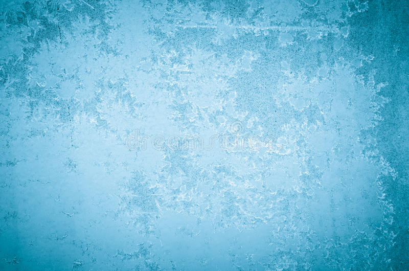 Winter abstract frost pattern. On glass stock images
