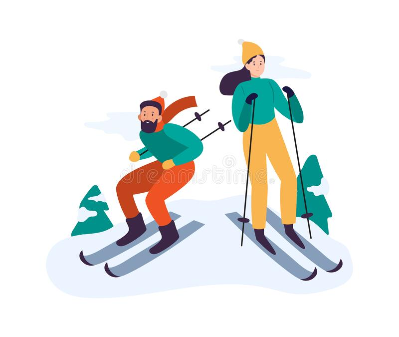 Naked black woman outdoor skiing Couple Skiing Stock Illustrations 595 Couple Skiing Stock Illustrations Vectors Clipart Dreamstime