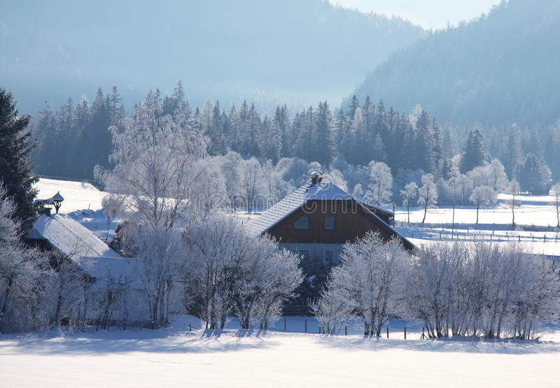 Download Winter In Alp Mountains Royalty Free Stock Photography - Image: 27054687