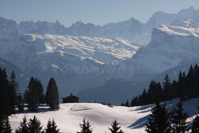 Download Winter in the Alps stock image. Image of swiss, jagged - 22387457