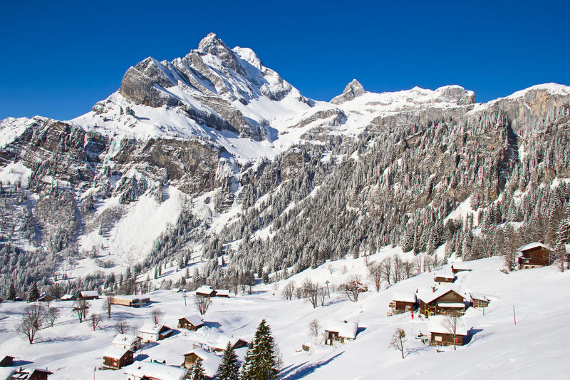 Download Winter In Alps Royalty Free Stock Images - Image: 34367349