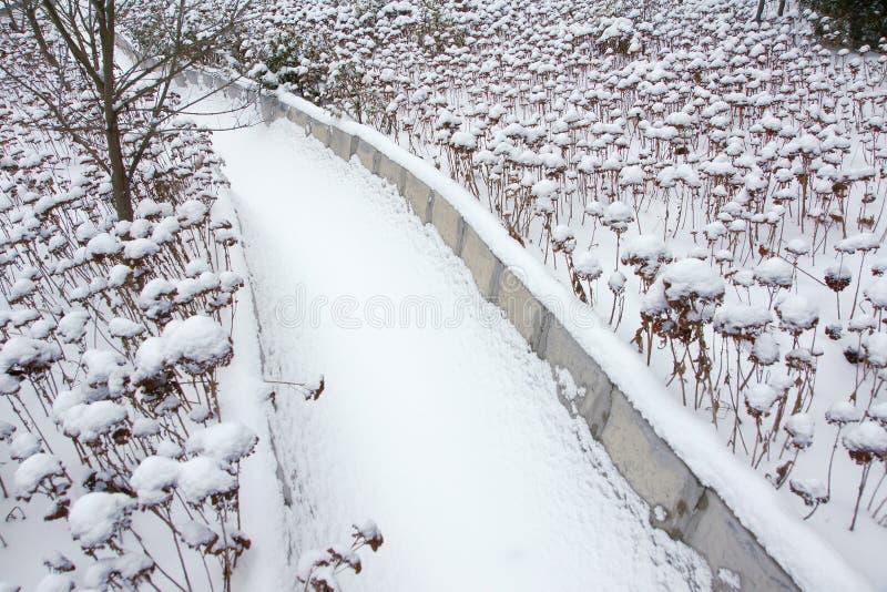 Winter Aqueduct Royalty Free Stock Image