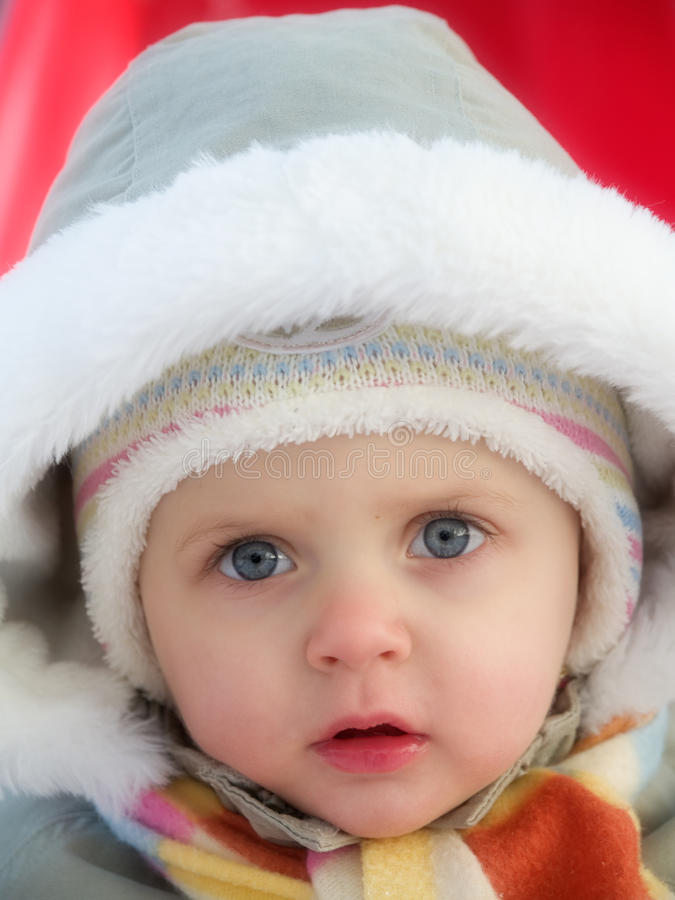 Download Winter baby stock image. Image of cold, wintertime, white - 22709759