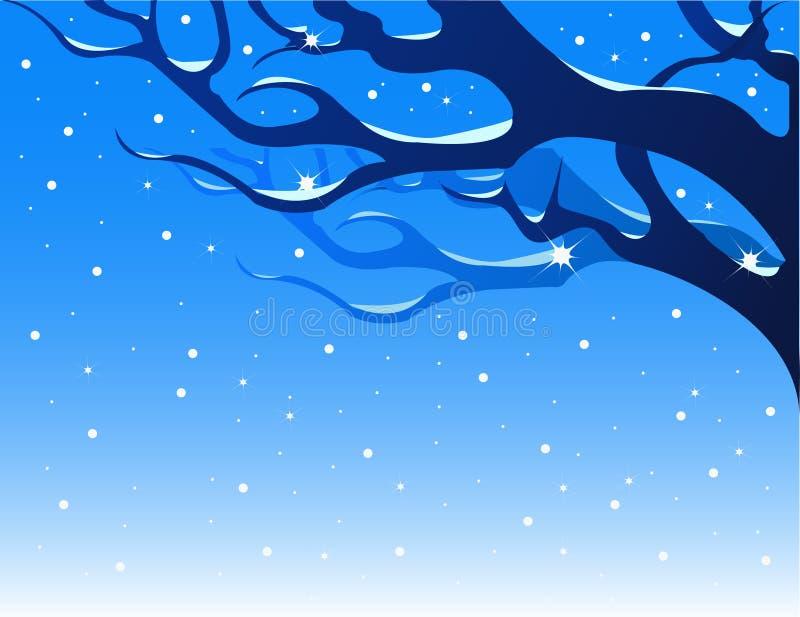 Winter background. royalty free illustration