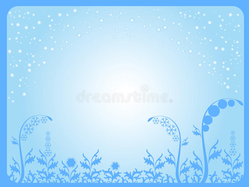 Download Winter background stock vector. Image of image, beauty - 12571026