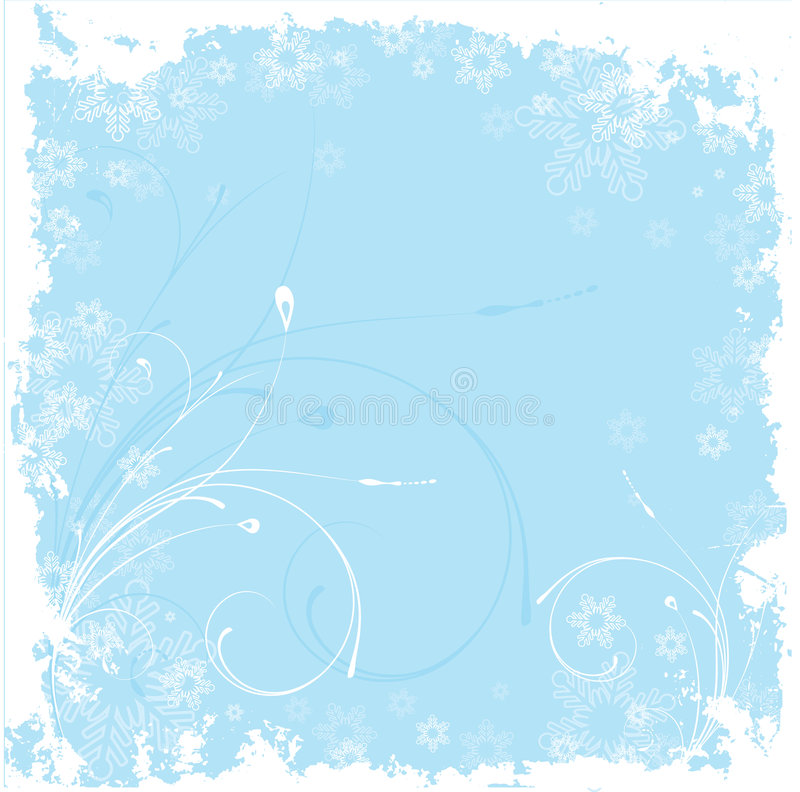 Download Winter background stock vector. Image of silhouette, holiday - 1410261
