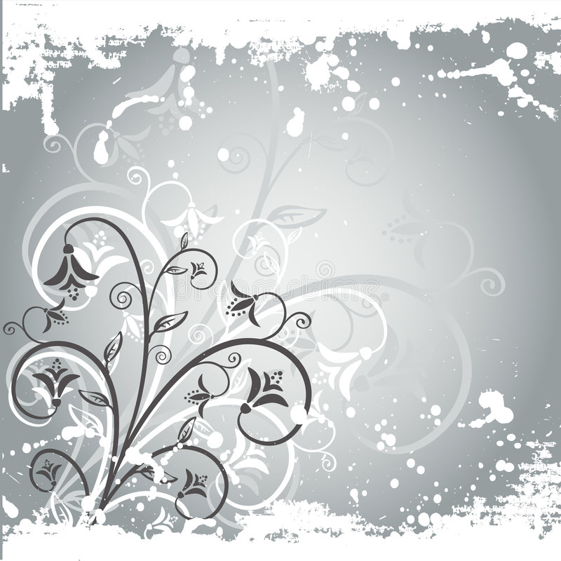 Download Winter background stock vector. Image of background, flower - 1421932