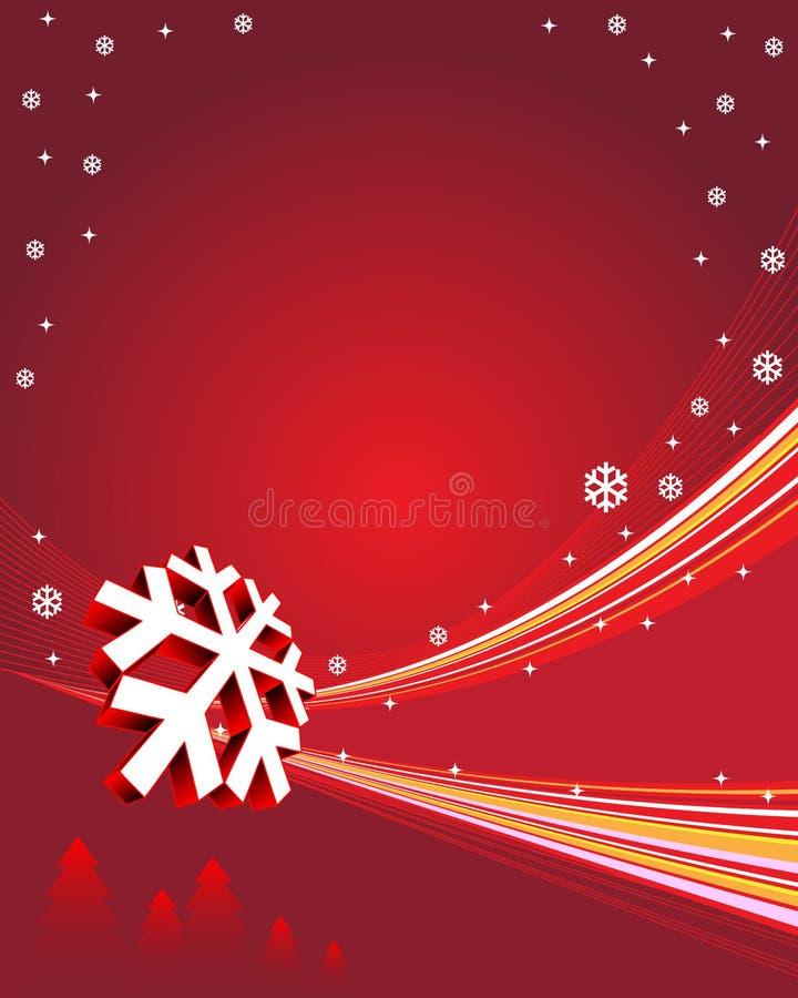Winter background stock illustration