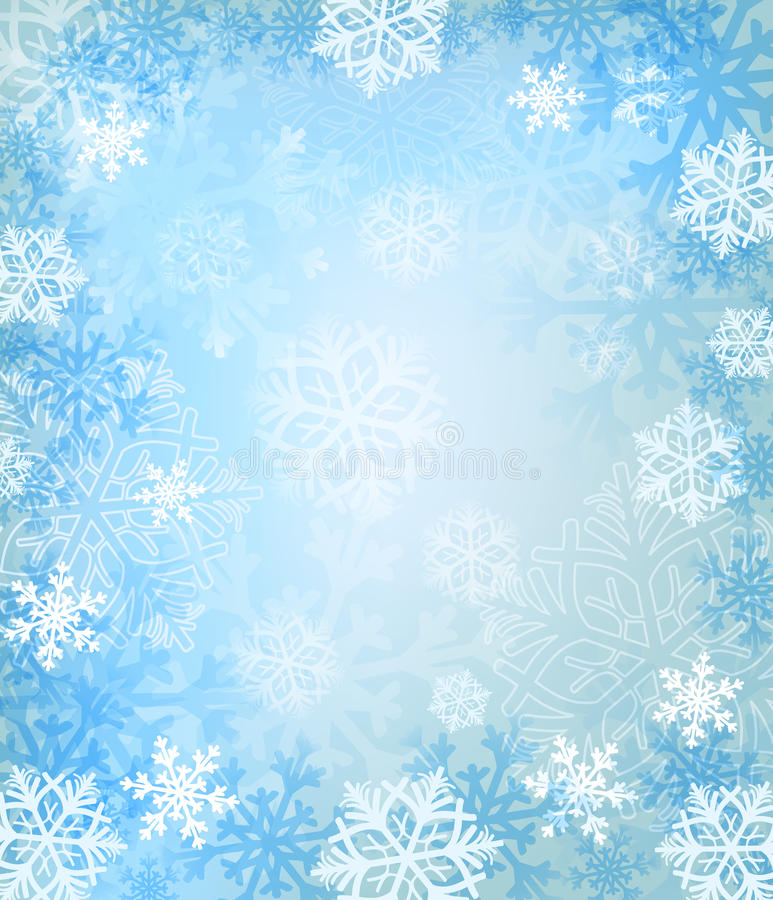 Download Winter background stock vector. Illustration of snow - 19744534