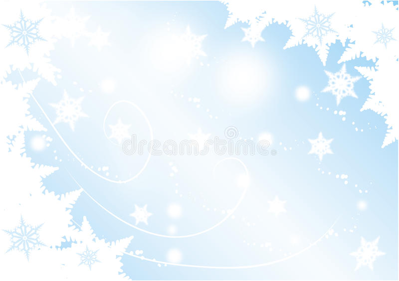 Download Winter background stock vector. Image of decorative, background - 21174684