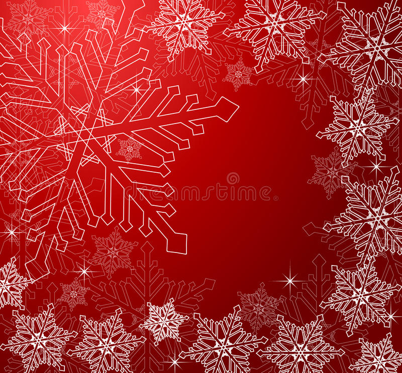 Winter background stock illustration