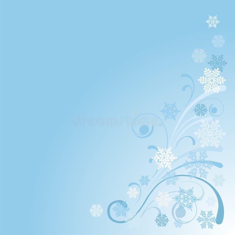 Download Winter background stock vector. Image of seasonal, flake - 27524685