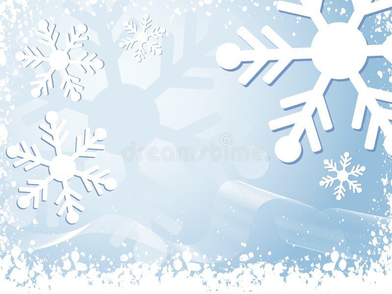 Winter background royalty free illustration